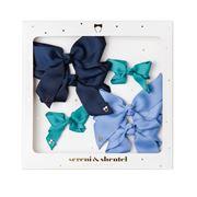 Sereni & Shentel - Blake Bow Treat Box 6pce Turquoise