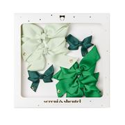 Sereni & Shentel - Blake Bow Treat Box Green 6pce