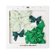Sereni & Shentel - Blake Bow Treat Box 6pce Green