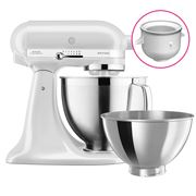 KitchenAid - KSM177 Frosted Pearl Mixer w/Ice Cream Bowl