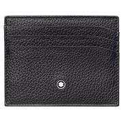 MONTBLANC - Meisterstück Soft Grain Pocket Holder 6cc Black