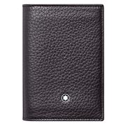MONTBLANC - Meisterstück S/Grain Business Card Holder Black