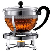 Bodum - Chambord Teapot with Tea Warmer 1.3L