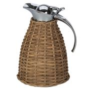 Giobagnara - Thermal Carafe Rattan Light Brown 1L
