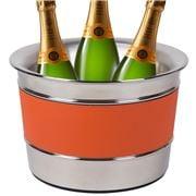 Giobagnara - Ocean Champagne S/S Bucket Calfskin Mango Large