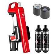 Coravin - Model Two Elite Wine System Pack Candy Red
