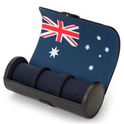 Wolf - Navigator Watch Roll Australian Flag