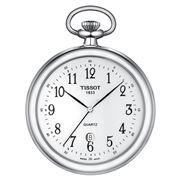Tissot - Lepine Pocket Watch Brass w/Chrome Whiite Dial