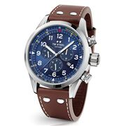 TW Steel - Swiss Volante SVS201 Blue Dial Watch  48mm
