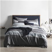 Sheridan - Chester Double Bed Quilt Cover Midnight