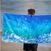 Destination Towels - Beach Towel Blue Boards