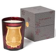 Cire Trudon - Nazareth Metallic Red Jar Candle 800g