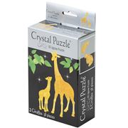 Games - 3D Crystal Jigsaw Puzzle Yellow Giraffes