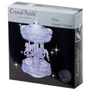 Games - 3D Crystal Jigsaw Puzzle Clear Carousel