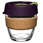 Keepcup - Brew Reusable Glass Cup Cork Pistachio 227ml