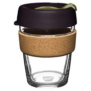 Keepcup - Brew Reusable Glass Cup Cork Pistachio 340ml