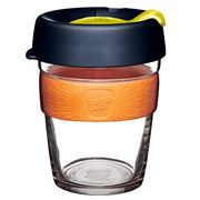 Keepcup - Brew Reusable Glass Cup Banksia 340ml