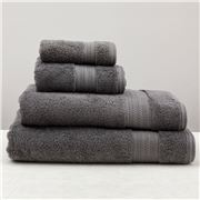 Private Collection - Heavenly Charcoal Bath Towel