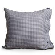 Lexington - Tattersall Tencel Pillowcase White/Blue 50x75cm