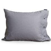 Lexington - Tattersall Tencel Pillowcase White/Blue 65x65cm