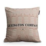 Lexington - Lexington Company Sham Creme/Red 50x50cm