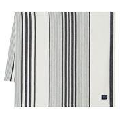 Lexington - Cotton Tablecloth Navy/White Stripe  150x250cm