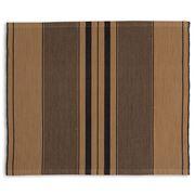 Lexington - Stripe Cotton Placemat Beige/Brown 40x50cm