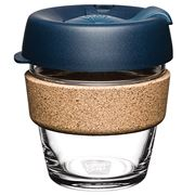 Keepcup - Brew Reusable Glass Cup Cork Edition Spruce 177ml