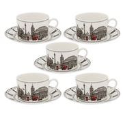 Halcyon Days - The London Icons Teacup & Saucer Set 5pce