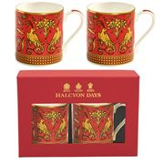 Halcyon Days - Jacobean Partridge Mug Set 2pce