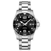 Longines - HydroConquest Black Dial Ceramic Bezel Watch 43mm