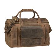 Greenburry - Vintage Leather Travel Bag Antique Brown