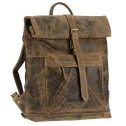 Greenburry - Vintage Leather Backpack 36x42x10cm