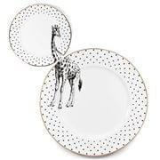 Yvonne Ellen - Monochrome Giraffe Plate Set 2pce