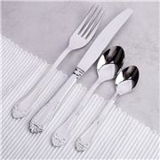 Herdmar - Barroco Cutlery Set Stainless Steel 24pce