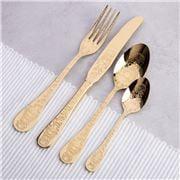 Herdmar - Santamarta Cutlery Gold Set 24pce
