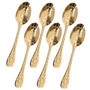 Herdmar - Santamarta Teaspoon Gold Set 6pce
