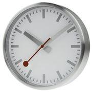 Mondaine - Official Swiss Railways Wall Clock Silver 25cm