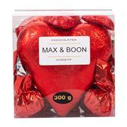 M & B Chocolates - Chocolate Hearts & Truffles Box 300g