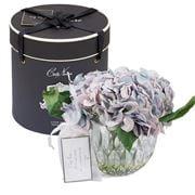 Cote Noire - Parfum De Maison Blue Hydrangeas Clear Vase