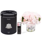 Cote Noire - Hydrangeas & Rosebuds Blush w/ Spray Set 3pce