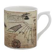 Gien - Leonard De Vinci Mug Machines