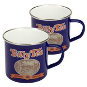 Australian Heritage Icons - Billy Tea Enamel Mug Set 2pce