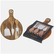 Tempa - Fromagerie Round Cheese Set 4pce