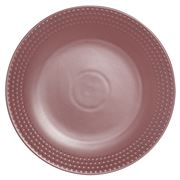 Ladelle - Abode Textured Round Platter Dark Rose