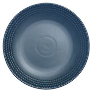 Ladelle - Abode Textured Round Platter Ink Blue