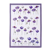 Ashdene - Purple Poppies Collection Tea Towel