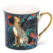 Ashdene - In The Jungle Collection Tall Flare Mug Cheetah