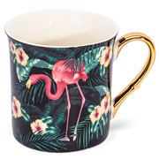 Ashdene - In The Jungle Collection Tall Flare Mug Flamingo