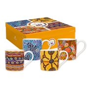 Ashdene - Ikuntji Artists City Mug Set 4pce